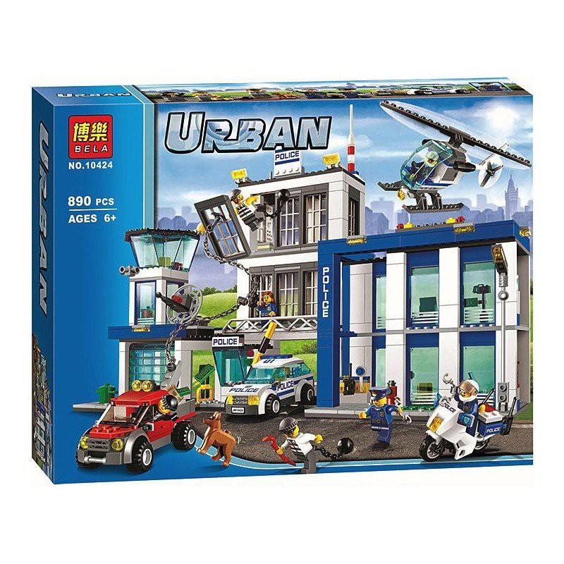 (Tặng 3 XH gỗ 30k) Lego Urban 890pcs - Trụ Sở Cảnh Sát Thành Phố 10424 - 2929099 , 163040150 , 322_163040150 , 999000 , Tang-3-XH-go-30k-Lego-Urban-890pcs-Tru-So-Canh-Sat-Thanh-Pho-10424-322_163040150 , shopee.vn , (Tặng 3 XH gỗ 30k) Lego Urban 890pcs - Trụ Sở Cảnh Sát Thành Phố 10424
