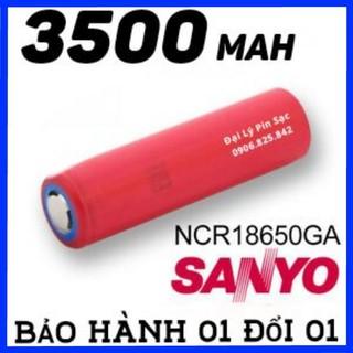 Pin Sanyo 18650 3500maH Chính Hãng