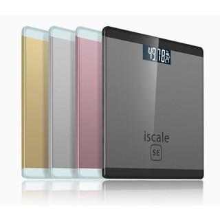 Cân sức khỏe điện tử Iscale SE Max 180kg – Tặng kèm thước dây -dc3413