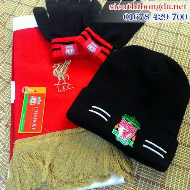 Khăn len găng tay len Liverpool