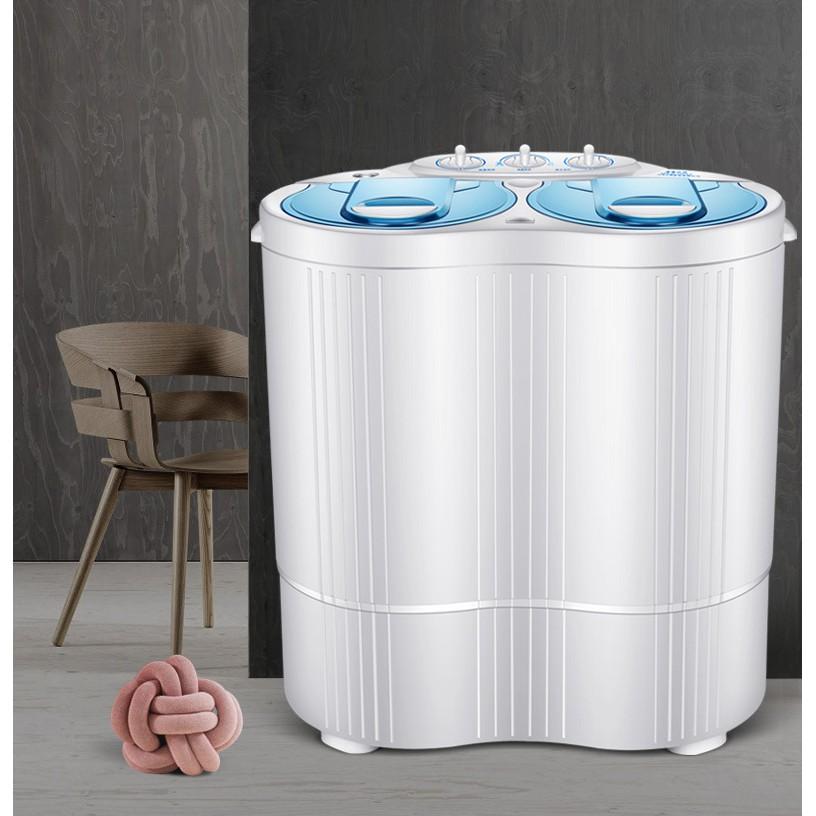[ELHAT800 giảm tối đa 800K] Máy giặt mini cho bé 1 lồng giặt 4,5kg 1 lồng vắt 3kg 2019