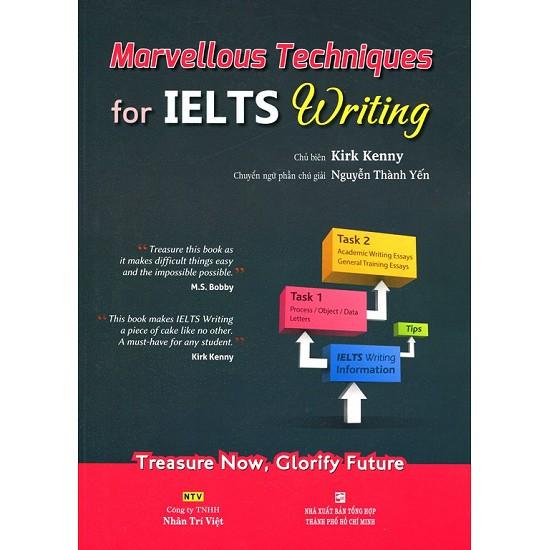 sách- Marvellous Techniques For IELTS Writing