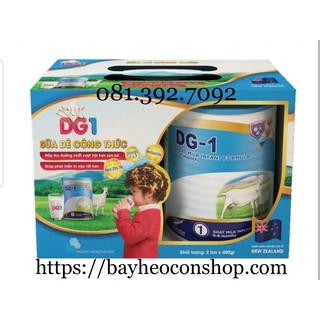 [Date 2022] Bộ 2 sản phẩm sữa dê công thức DG-1 400g