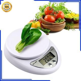 Cân Tiểu Ly 5 Kg Electronic Kitchen Scale – cân thực phẩm gia vị nhà bếp tiện dụng