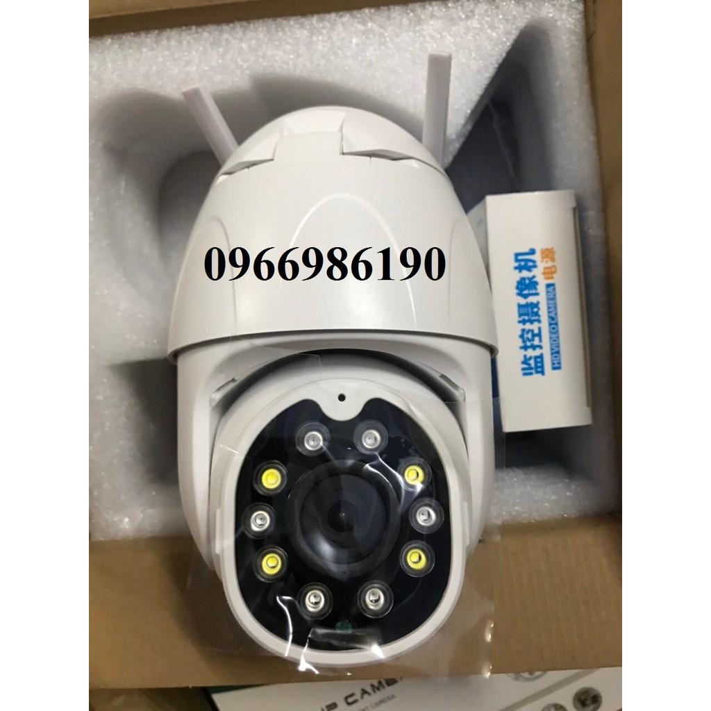 Camera Wifi Ngoài trời Yoosee Full HD 1080P PTZ - Quay 360 độ, có màu ban đêm