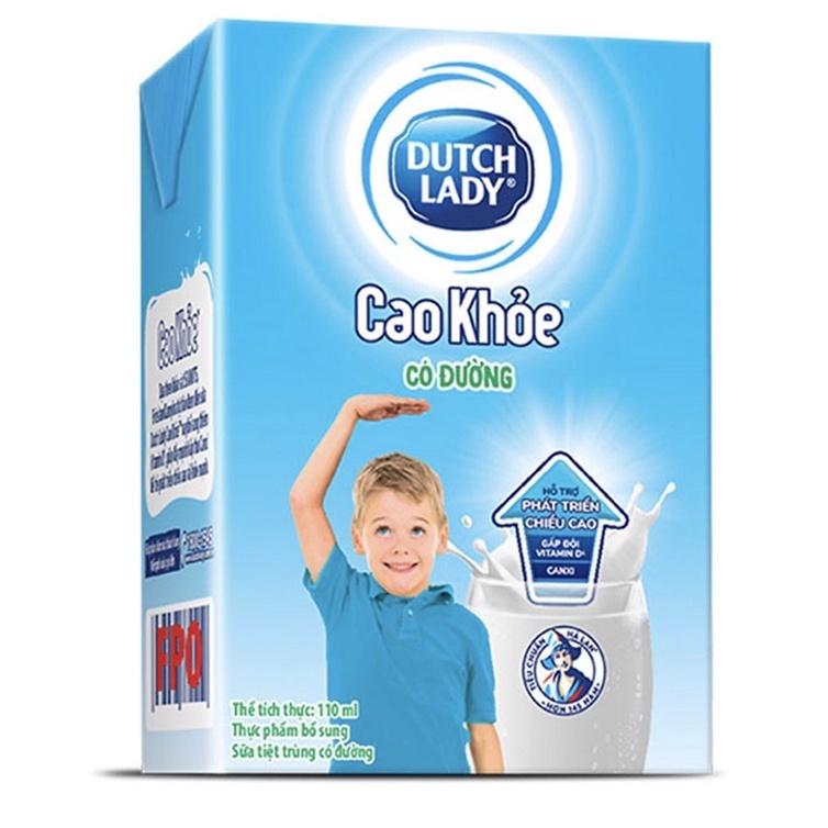 Thùng sữa Dutch Lady CGHL Cao Khoẻ 48x110ml