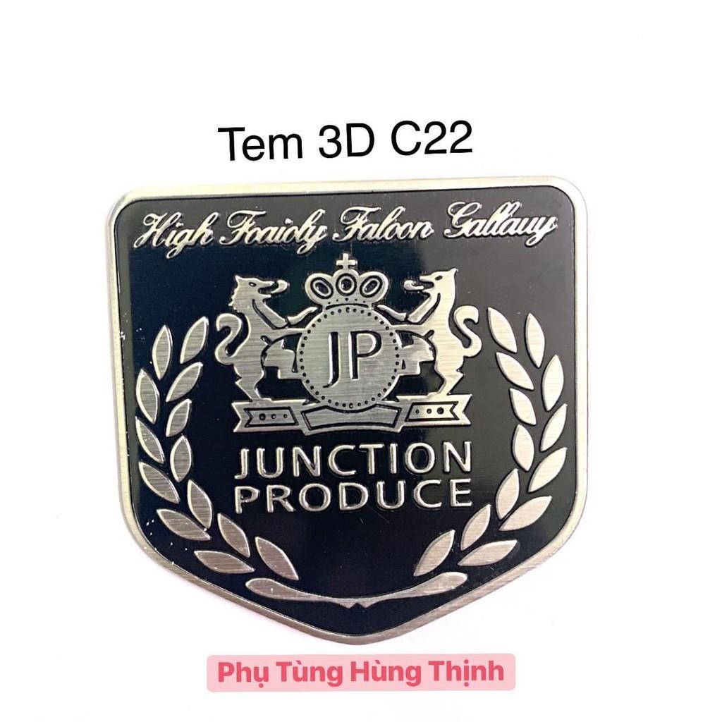 Tem logo 3D C22