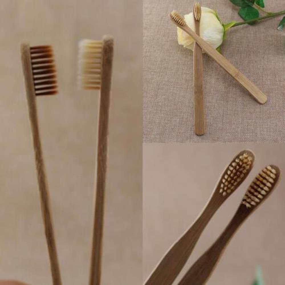 Bàn chải đánh răng bằng tre thân thiện với môi trường và siêu bền