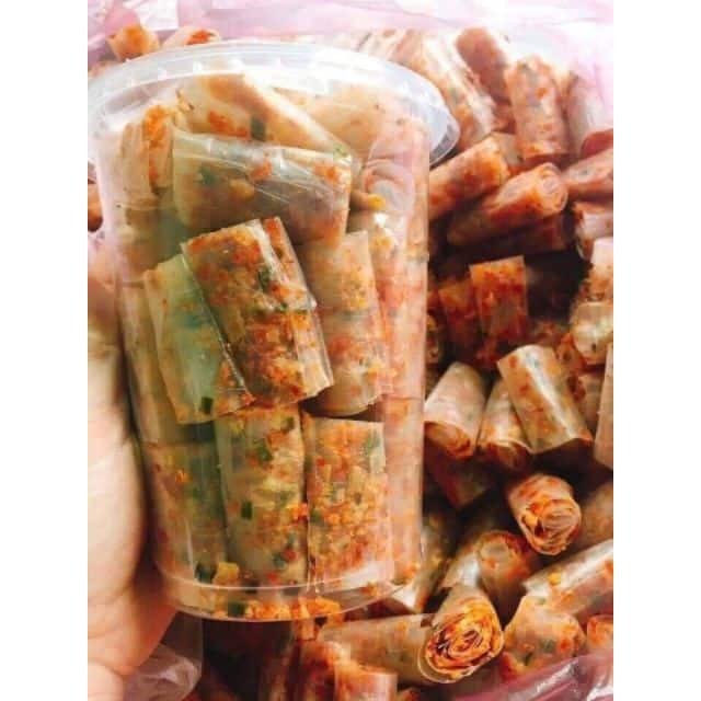 Bánh Tráng Cuộn Thập Cẩm - Ăn Sẽ Ghiền - 250G / 500G
