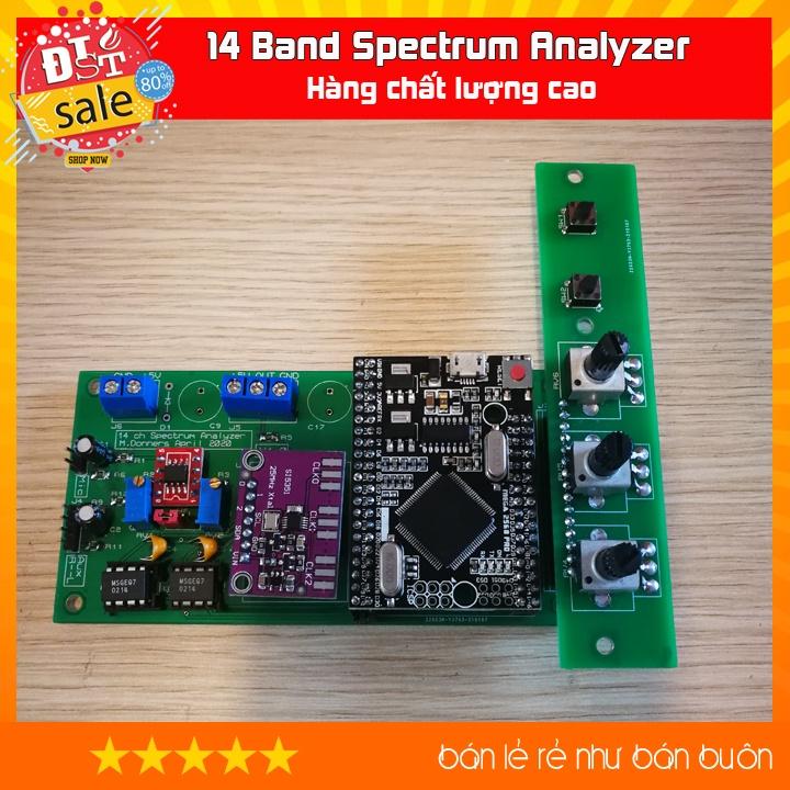 Bộ điều khiển nháy nhạc 14 Band Spectrum Analyzer