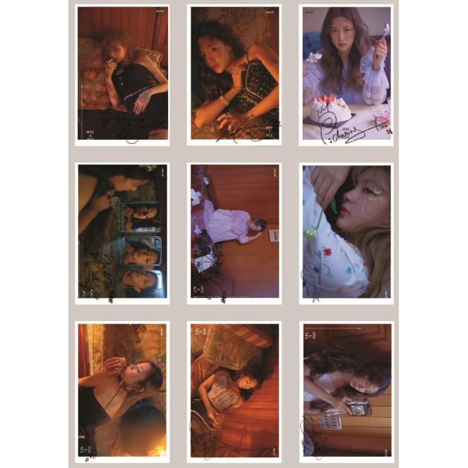 Lomo card ảnh nhóm APINK ONE & SIX Concept Photo full 15 ảnh có chữ ký
