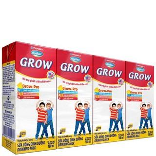 SỮA BỘT PHA SẴN DIELAC GROW 180ML - LỐC 4 HỘP X 180ML thumbnail