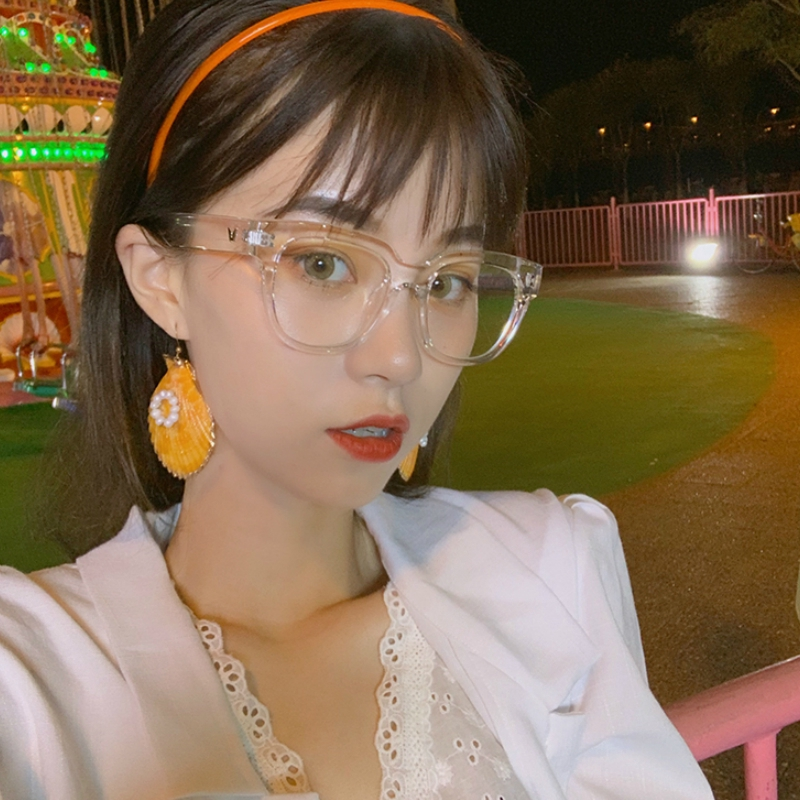 Mắt Kính Gọng Vuông Phong Cách Hàn Quốc Cho Nữ