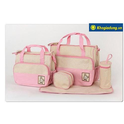 Bộ túi 5 chi tiết cho mẹ và bé - 2676146 , 91476717 , 322_91476717 , 230000 , Bo-tui-5-chi-tiet-cho-me-va-be-322_91476717 , shopee.vn , Bộ túi 5 chi tiết cho mẹ và bé
