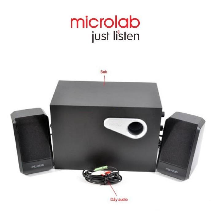 Loa Vi Tính Chính Hãng MICROLAB M-280BT/2.1 Kết Nối Bluetooth