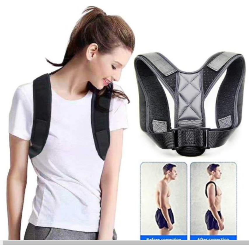 Đai chống gù lưng Bodywellness cho nam và nữ phòng chống các bệnh về lưng trên.