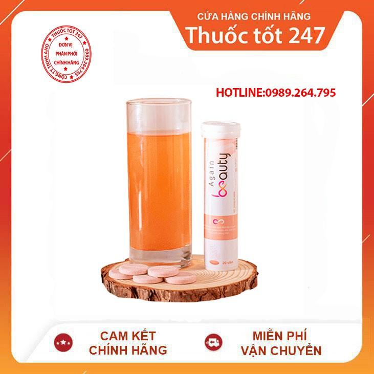 Again Beauty Collagen Viên SủI -Chính Hạng