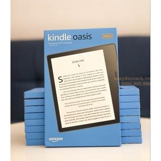 Máy đọc sách Kindle Oasis – thế hệ 10, có WARMLIGTH điều chỉnh tông màu ấm – tên gọi khác Kindle Oasis 3 – maydocsach.v