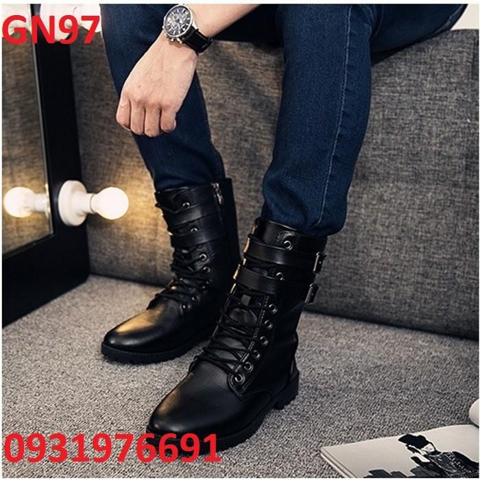 Giày Bốt Nam cao cấp Hàn Quốc - GN97 - 2827868 , 72322100 , 322_72322100 , 375000 , Giay-Bot-Nam-cao-cap-Han-Quoc-GN97-322_72322100 , shopee.vn , Giày Bốt Nam cao cấp Hàn Quốc - GN97