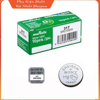 Pin Sony SR516SW - Pin Đồng Hồ Đeo Tay Chính Hãng thumbnail