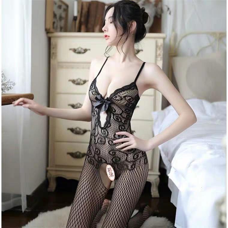 Mặc gì đẹp: Ngủ ngon hơn với Đồ ngủ lưới Sexy gợi cảm Đồ Cosplay xuyên thấu