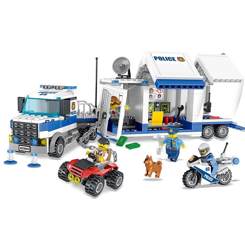 Lego Cities 39052 - Xe cảnh sát bắt cướp - 398 chi tiết