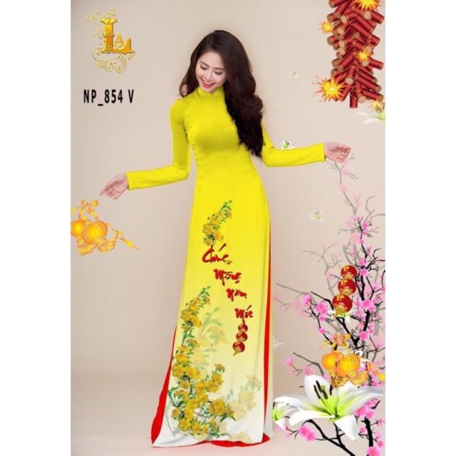 Vải áo dài Xuân