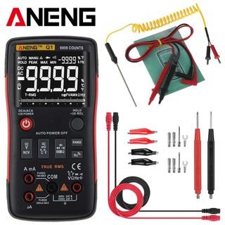 Đồng hồ vạn năng kỹ thuật số chuyên nghiệp ANENG Q1 tặng kèm bộ que đo 16 chi tiết ANENG, pin panasonic