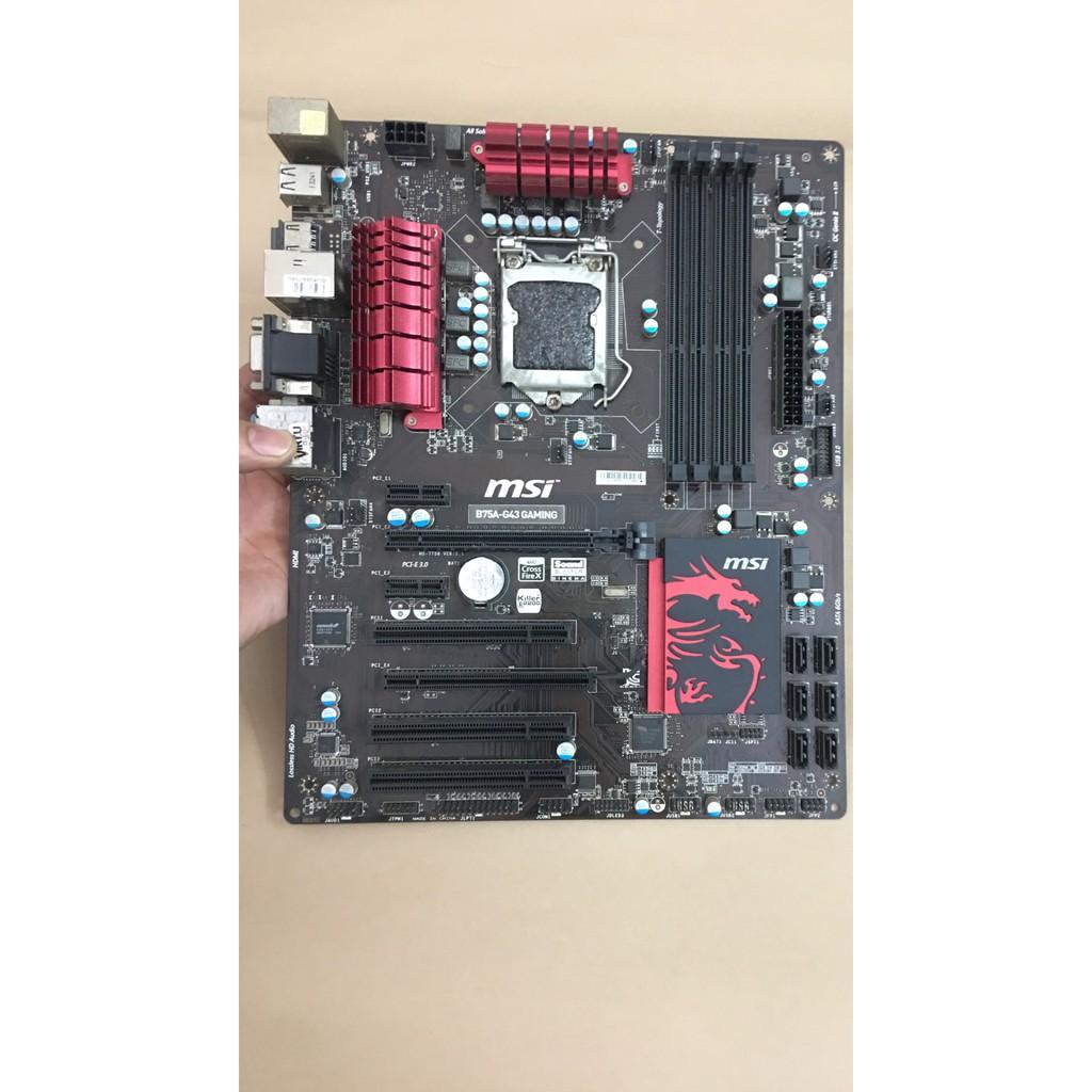 Mainboard msi b75 g43 gaming