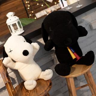 gấu chó bông đen trắng xinh xắn kèm ảnh thật / quà tặng ý nghĩa