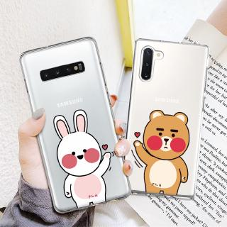 For Samsung A8 A5 J3 J5 A3 A7 2018 Brown Cony Loves Life Printed Soft Silicone Case