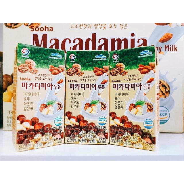 Sữa hạt Maccadamia
