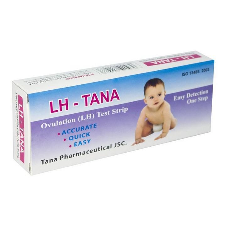 Combo 6 que thử rụng trứng LH - Tana