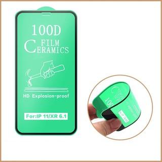 Cường lực iphone Dẻo 100D Full màn - Cường lực Dẻo Chống Mẻ Vỡ Viền 1