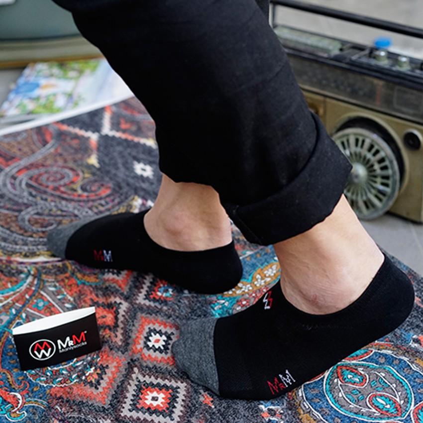 [Mã FAMALLT5 giảm 15% đơn 150K] Hộp 5 đôi tất nam 100 % cotton Organic tự nhiên - CB5TKCCM MRM Manlywear