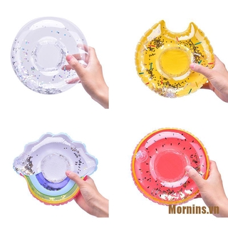 Mornins❤Inflatable Water Swimming Pool Drink Cup Stand Beverage Holder Float Party Toy