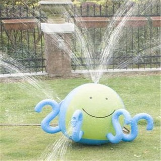 Inflatable Spraying Octopus Water Jet Ball Beach Ball Lawn Game Spraying Octopus