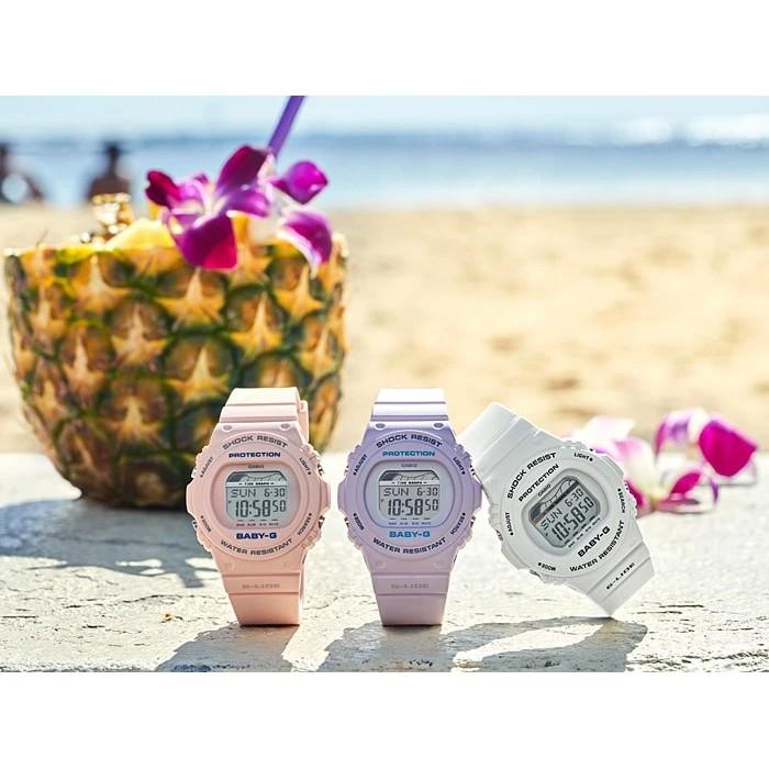 Đồng hồ nữ dây nhựa chính hãng Casio BABY-G BLX-570-4DR