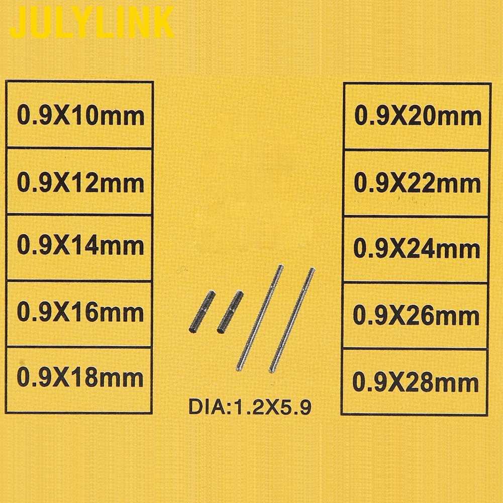 1 Hộp Kim Loại Và Chốt Đồng Hồ Đeo Tay 10-28mm