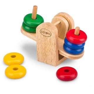 Đồ chơi gỗ cân bập bênh hãng Winwintoys