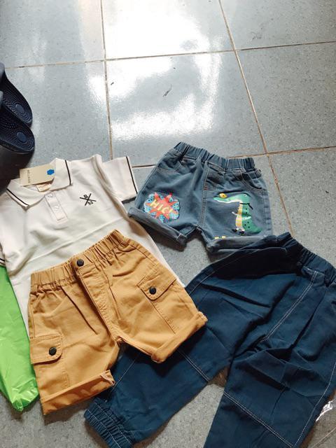 Đánh giá sản phẩm Quần Kaki bé trai WELLKIDS họa tiết túi hộp hàng xuất Âu Mỹ của zinzin17