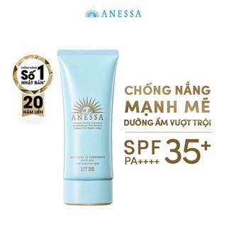 [HB GIFT] Gel chống nắng dịu nhẹ cho da nhạy cảm và trẻ em Anessa Moisture UV Sunscreen Mild Gel N SPF 35 PA+++ 90g thumbnail
