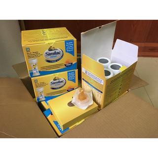 (MỚI) 4 ống Sữa nước Similac Infant HMO 59ml 19 kcal fl oz cho bé(TẶNG NÚM TI ) thumbnail