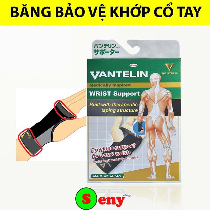 [FREE SHIP] Băng bảo vệ cổ tay Vantelin dùng  băng cổ tay tập gym, thể thao, chấn thương