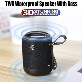 Loa bluetooth TWS không dây âm thanh 3D chất lượng cao hỗ trợ thẻ Tf