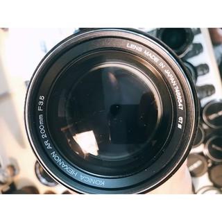 Ống kính MF Konica Hexanon AR 200mm F3.5 thumbnail