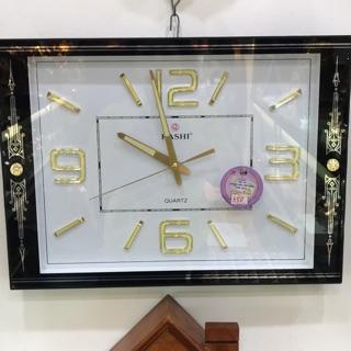 [Hàng loại 1] Đồng hồ treo tường Kashi kim trôi yên tĩnh