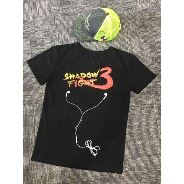 áo thun nam siêu mát cho tín đồ shadow fight3