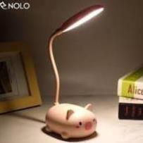 Đèn học sinh heo mini, đèn heo hồng ngộ nghĩnh