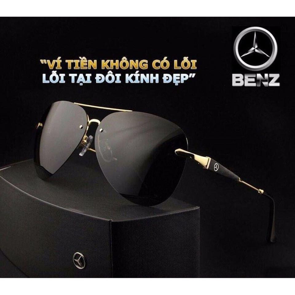 Kính mắt nam cao cấp Mercedes-Benz 743 | Sang Trọng | Mạnh mẽ